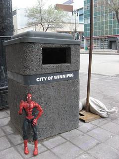 Spider-Man in Winnipeg