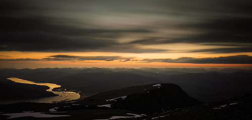 sunset summer mountain snow west coast scotland highlands nikon ben fort 85mm scottish william glen eil lee western glencoe 24mm loch coal filters isles mor cornice nevis lochaber d600 linnhe corpach dearg carn