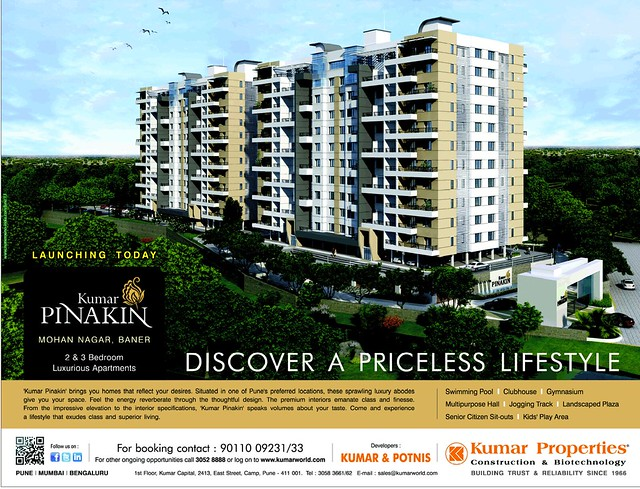 Launch Ad of Kumar Pinakin, Mohan Nagar, Baner Pune (15-6-2013)