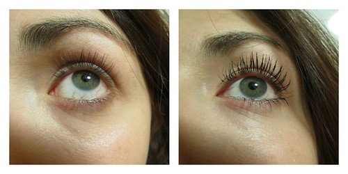Before and After Etude House Oh M'Eye Lash Mascara