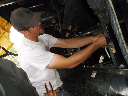 Kasey servicing the CR