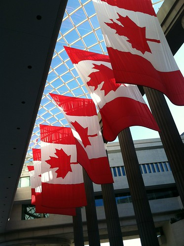 Fourth of July at Canadian Embassy