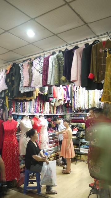 上海南外灘輕紡面料市場