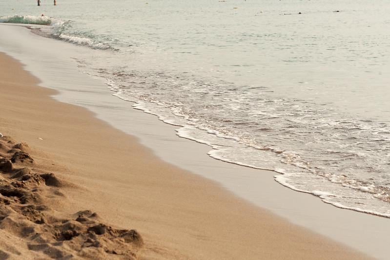 Гулять по берегу - сплошное удовольствие