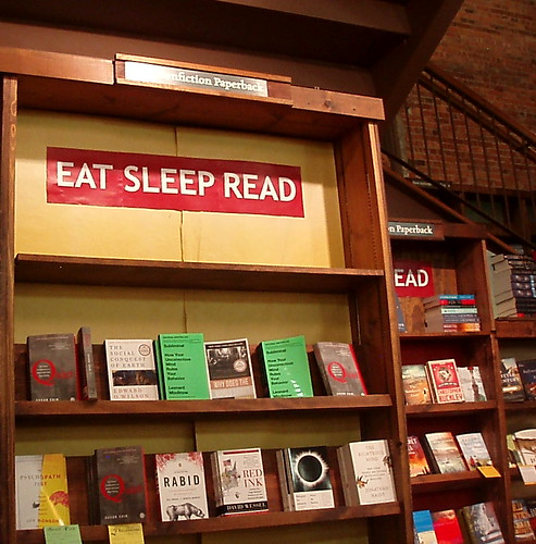 Tattered Cover Book Store: Eat Sleep Read