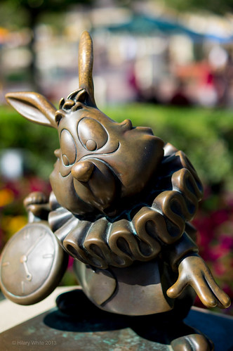 White Rabbit Bronze