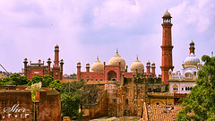 A view from Lahore FORT