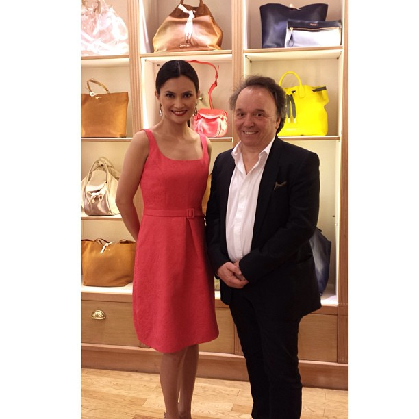 With CEO and owner of #Repetto Jean Marc Gaucher at the Greenbelt 3 store. I hosted the launch today.