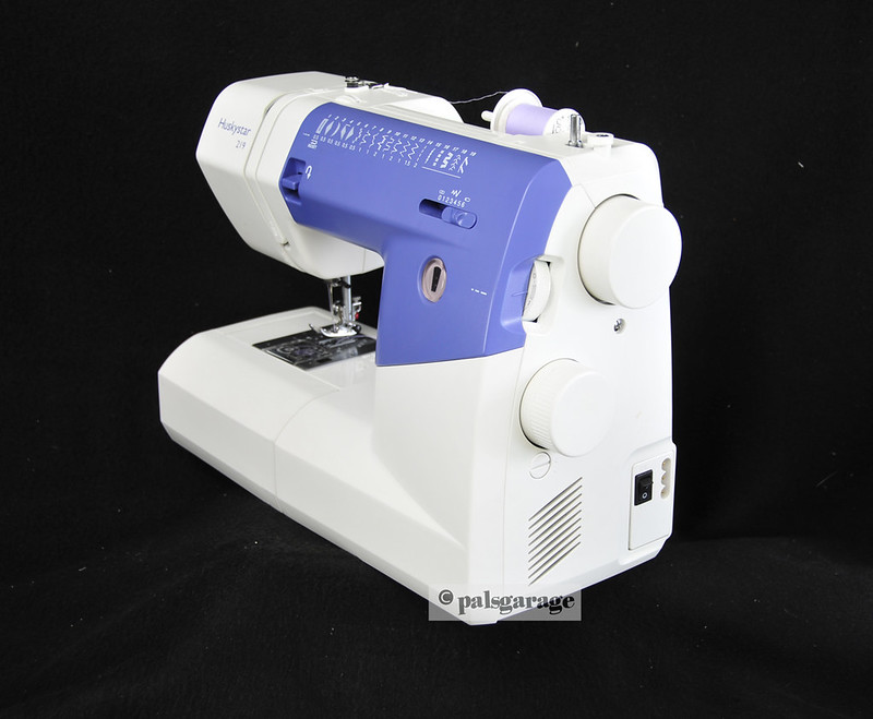 Husqvarna Viking Accessories : Husqvarna viking huskystar sewing machine in mint