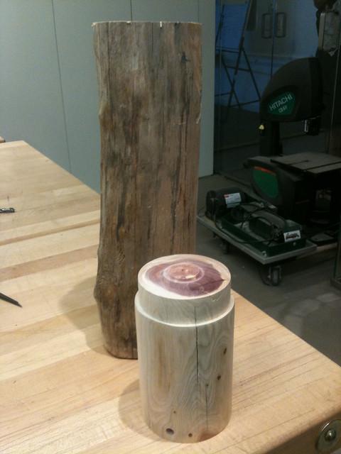 Red Cedar Lamp