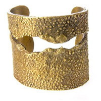 made in usa from recycled metal cuff alkemie