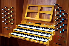 percussion(0.0), computer component(0.0), celesta(0.0), electronic device(0.0), fortepiano(0.0), harmonium(0.0), electronic keyboard(0.0), electric piano(0.0), organist(0.0), player piano(0.0), wind instrument(0.0), musical keyboard(1.0), keyboard(1.0), organ(1.0), electronic instrument(1.0),