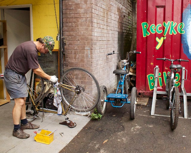 Where To Recycle Your Cycle Or Refurbish One At A Community Cycle