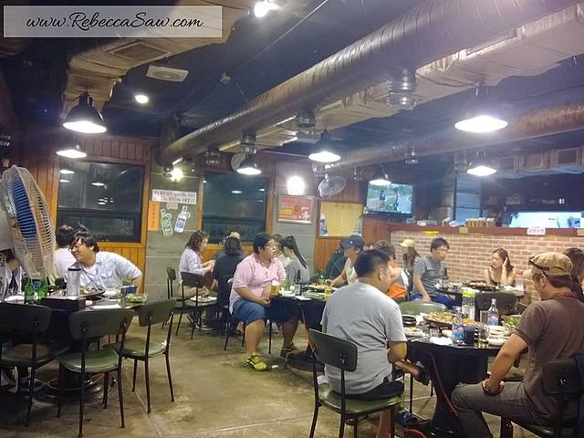 review - Jeju Island - Local food - Black Pork Heuk Dwaeji Street -006