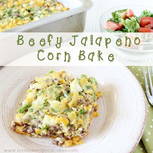 Beefy Jalapeno Corn Bake 3