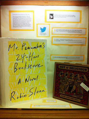Mr. Penumbra's 24-hour bookstore exhibit