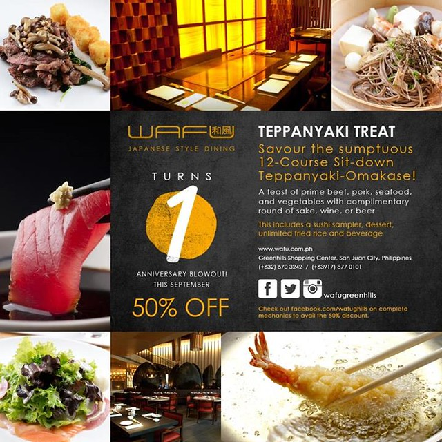 Wafu Teppanyaki Treat