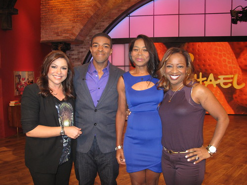 Angela and Willie on The Rachael Ray Show