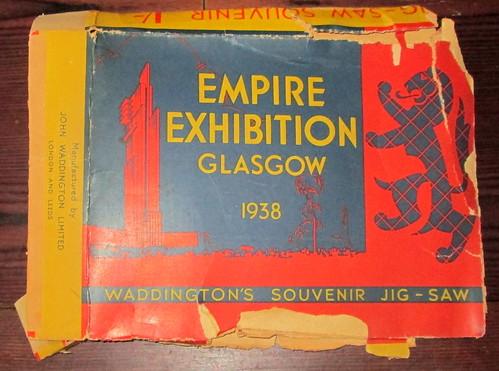 Box for Empire Exhibition 1938 Jigsaw