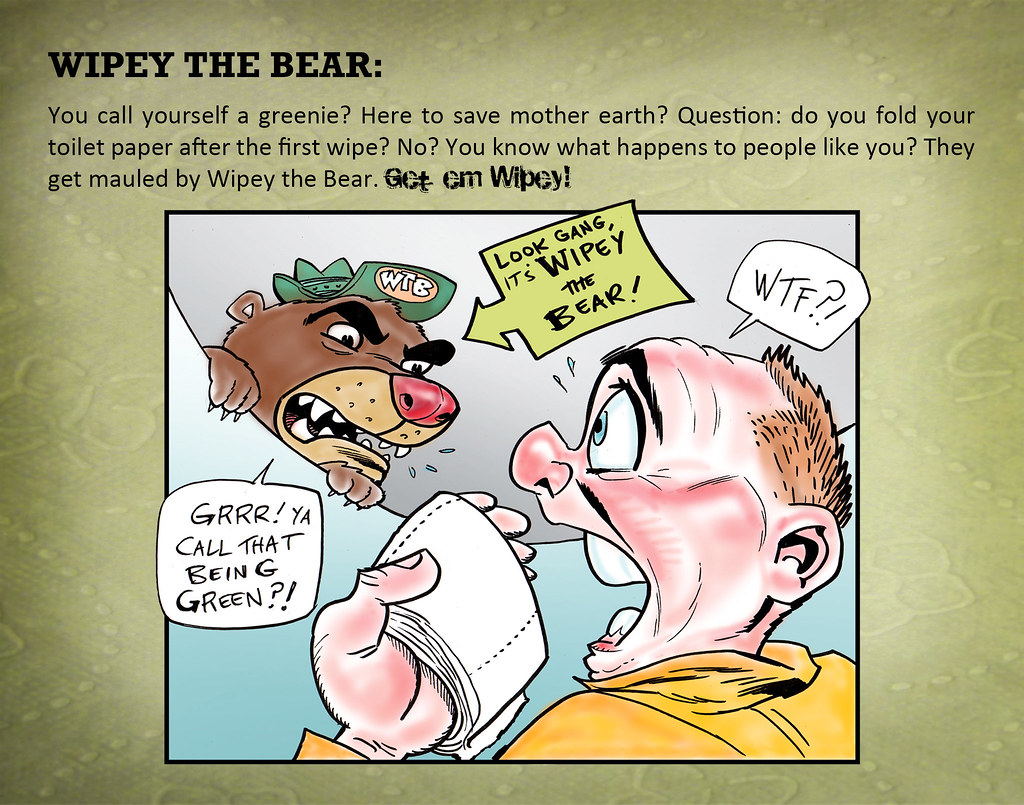 71 Wipey the Bear