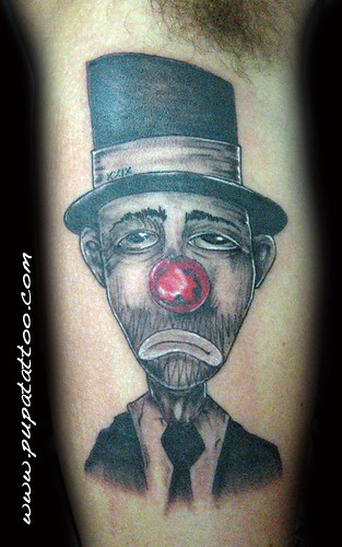 Tatuaje payaso, Pupa Tattoo Granada by Marzia PUPA Tattoo