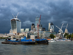 City of London Skyline - 9th Oct 2013