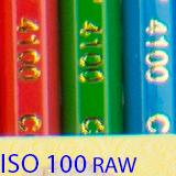 100 raw