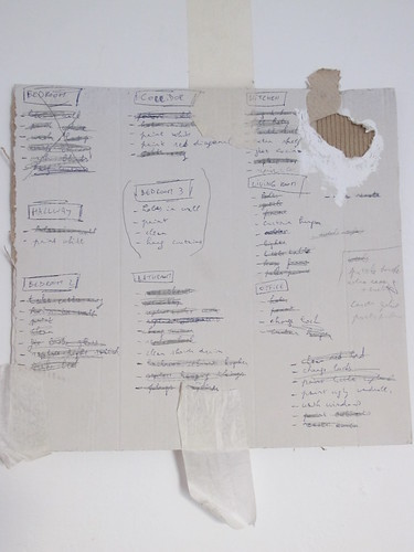 Someone bought a flat in Valencia, wrote a to-do-list and did a lot of work! - Risager