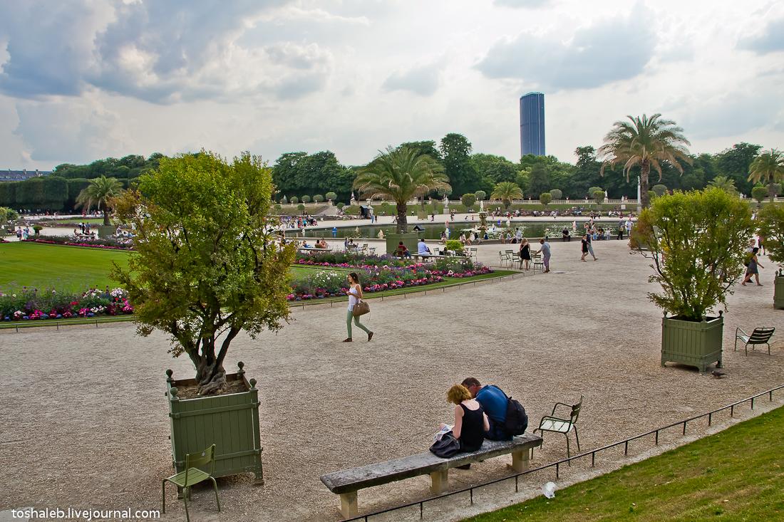 Люксембургские сады-9