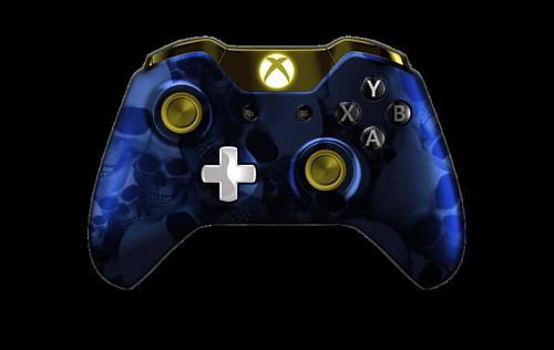 XboxOneController-BlueSkullz