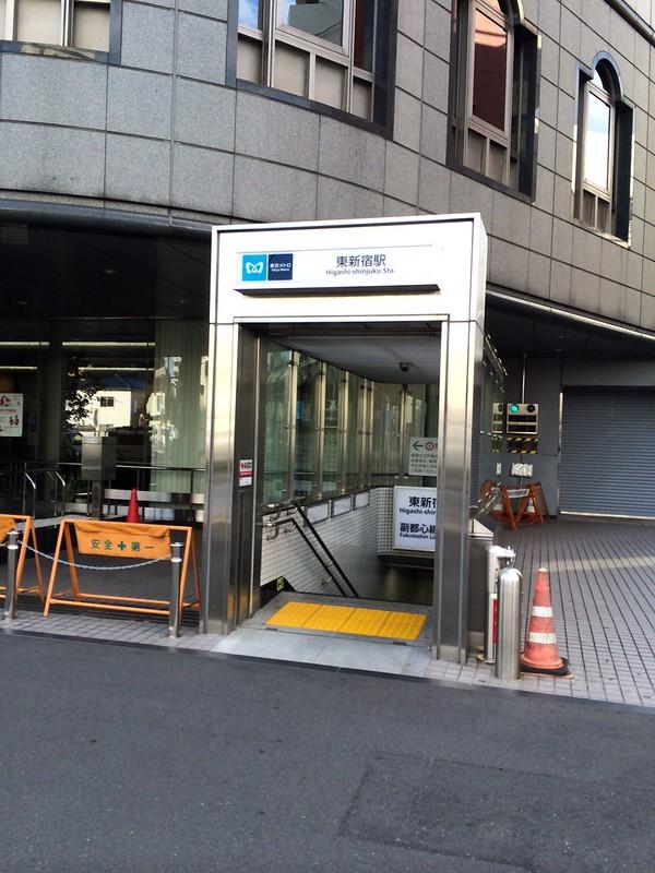 東新宿駅 by haruhiko_iyota