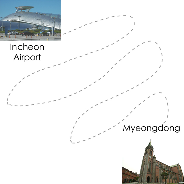 incheon airport to myeongdong