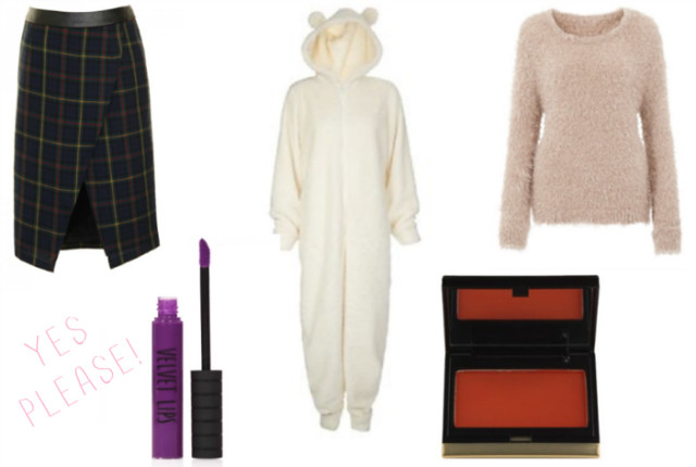 clothes and makeup wishlist