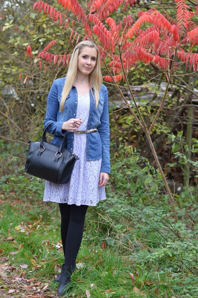 Sommerkleid im Herbst stylen (2)