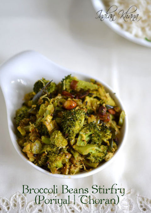 Broccoli Beans Stirfry