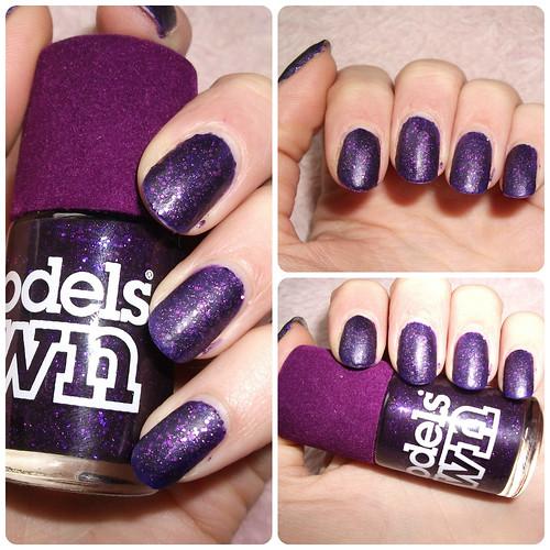 NOTD Models Own Velvet Goth Amethyst
