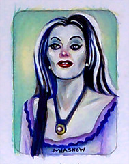 MIASNOW Drawing Nov 12 2013 Lily Munster 2