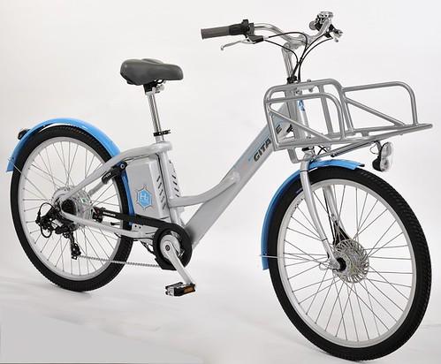 Alter Bike – электровелосипед на водородных топливных элементах