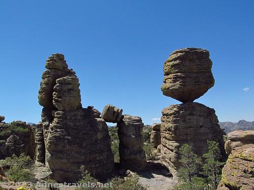 The Big Balanced Rock, Chiricahua National Monument, Arizona