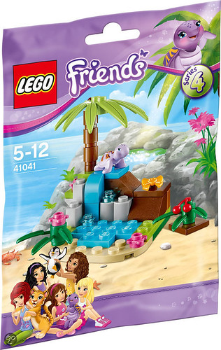LEGO Friends Turtle's Little Paradise (41041)