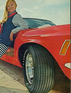 1970 Ford Mustang Boss 302 Goodyear Ad
