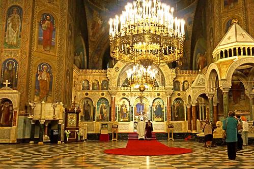 Bulgaria 02985 St Alexander Nevsky Cathedral Interior