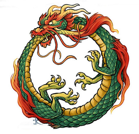 ouroboros-dragon