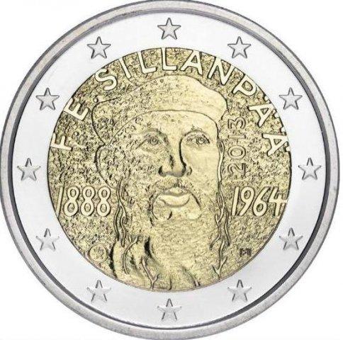 2 Euro Fínsko 2013, F.E. Sillanpää