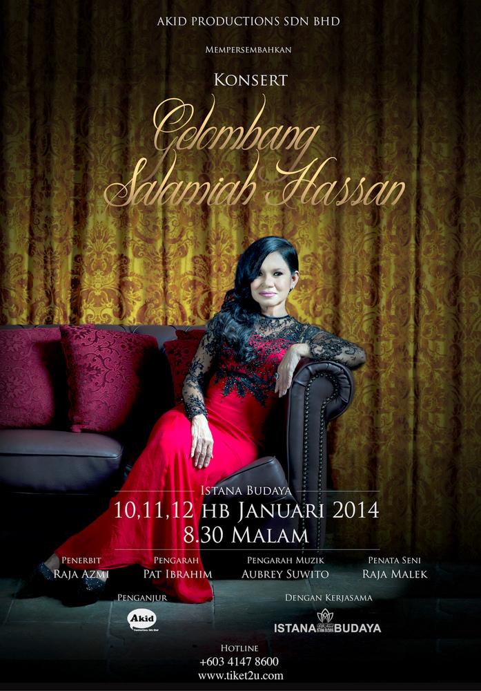 Poster Konsert Gelombang Salamiah Hassan