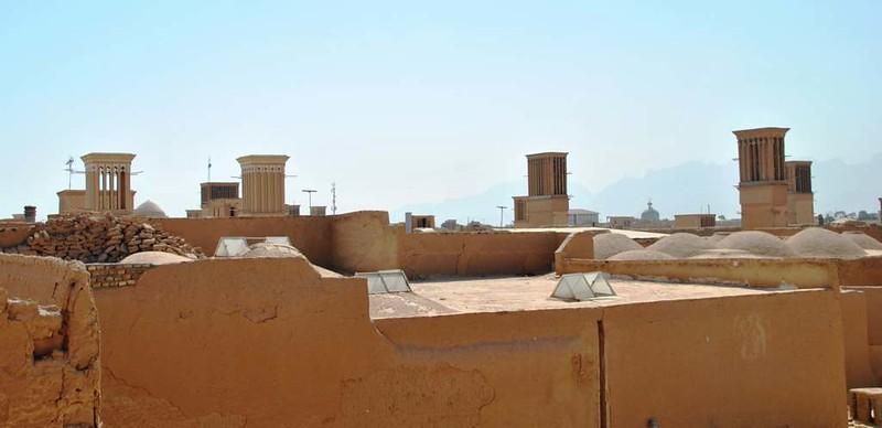 260 torres de aire acondicionado antiguas en el Casco antiguo y mezquitas de Yazd (112)