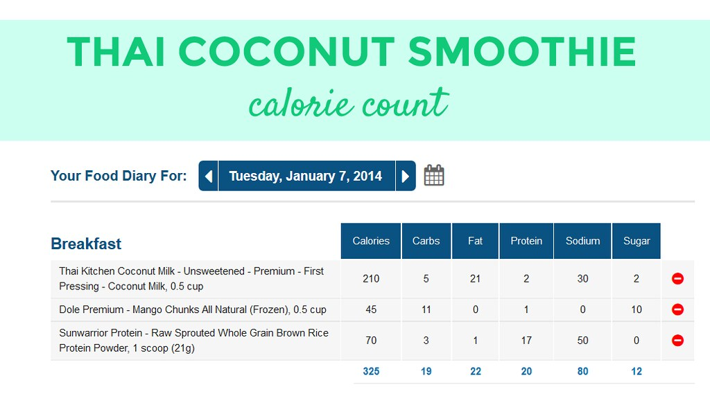 thai-coconut-smoothie-calorie-count