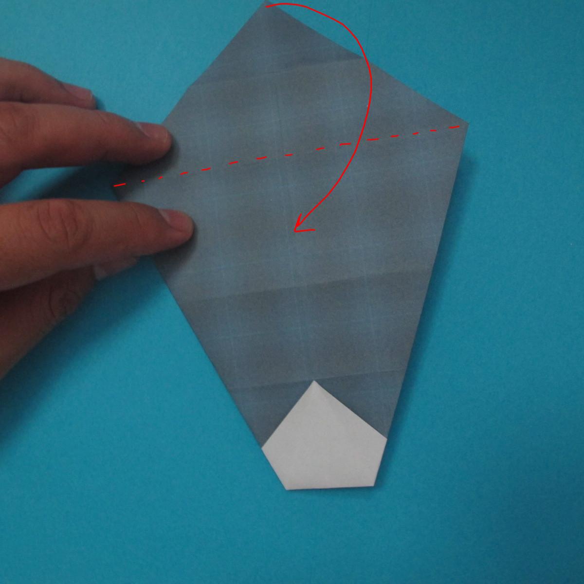 วิธีการพับกระดาษเป็นรูปนกเค้าแมว 009
