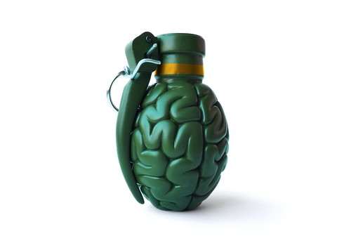 BRAINADE! the Brain Grenade by Emilio Garcia