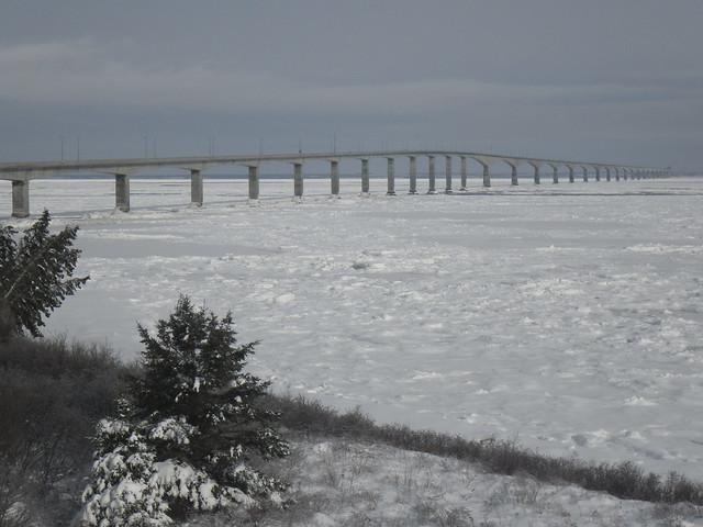The Confederation Bridge to PEI
